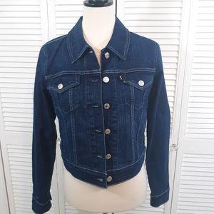 Levi's black tab trucker Jean jacket sz small